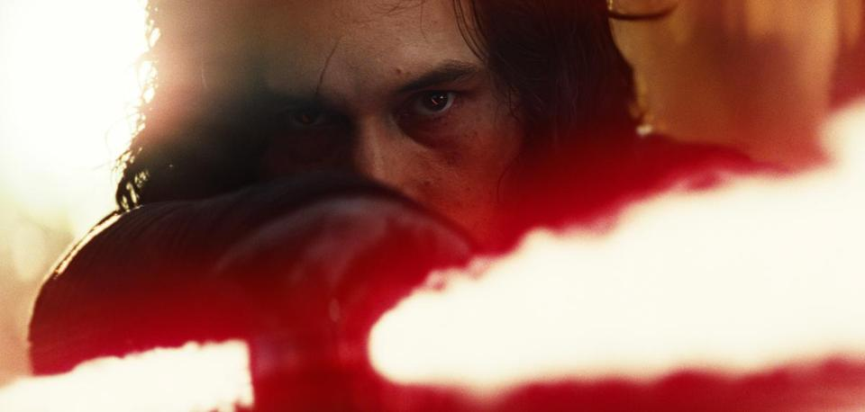 "This is Adam Driver from ""Girls."" He also is a bad guy in ""Star Wars."""